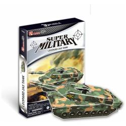 3D Puzzle Leopard Tank - 51 Pcs