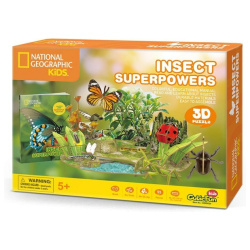 National Geographic Kids 3D Puzzle Insect - 55 Pcs