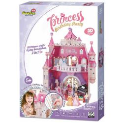 3D Puzzle Princess birthday house - 95 Pcs