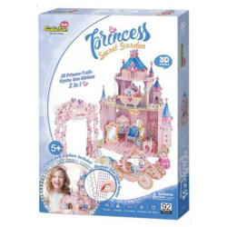 3D Puzzle Princess Secret Garden - 92 Pcs