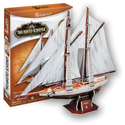 Two-Masted Schooner - 81 Pcs