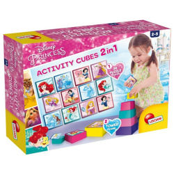 2in1 Princess Activity Cubes