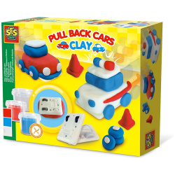 Pull Back Cars Clay
