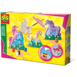 Coloring Set - 3D Horses