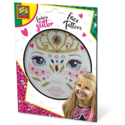 Temporary Glitter Face Tattoos - Princess