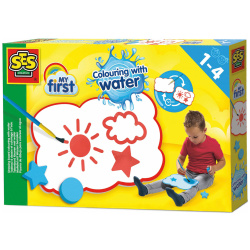 My First Coloring drawing board with water