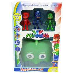 SuperHero Set Green - PJ Masks