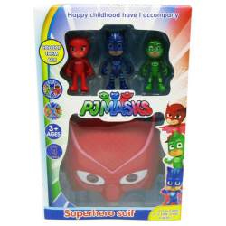 SuperHero Set Red - PJ Masks