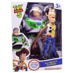 Buzz Lightyear & Sherif Woody