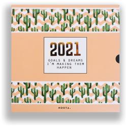 2021 Noota Agenda Gift Pack - Cactus Zigzag