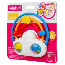 Rainbow Rattle Melodies with Lights
