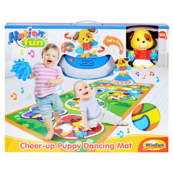 Children's Music Mat With Dancing Puppy