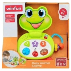 Laptop Frog Interactive with Light & Sounds