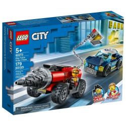 City Elite Police Driller Chase - 179 Pcs