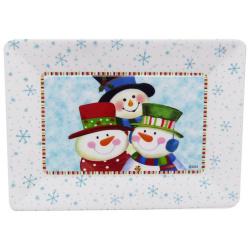 Christmas Tray - Porcelain