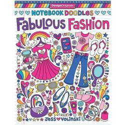 Note Book - Doodles Fabulous Fashion