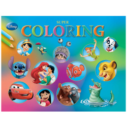 Super Colouring Book A3 - Disney Characters