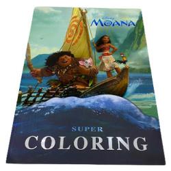 Super Colouring Book A3 - Moana