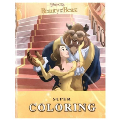 Super Colouring Book A3 - Beauty & The Beast