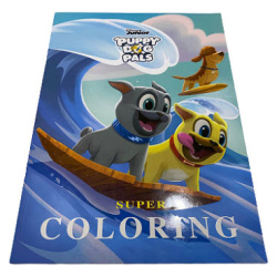 Super Colouring Book A3 - Puppy Dog Pals