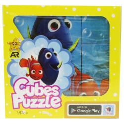 Diseny Cubes Puzzle -  9 Pcs - Random Pick