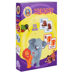 Memory Game Alphabets - 52 Cards