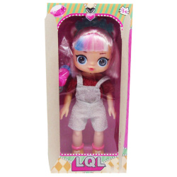 LOL Surprise Doll With A Silver Jumpsuit