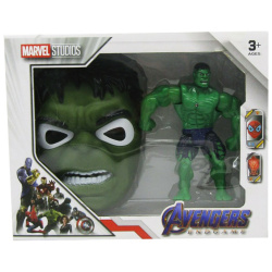 Marvel Studio Figure With Mask - Hulk