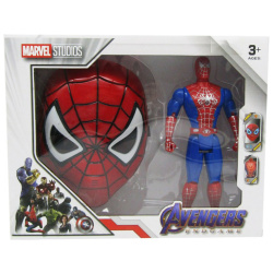 Marvel Studio Figure With Mask - SpiderMan