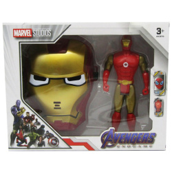 Marvel Studio Figure With Mask - Iron Man