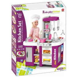 Purple Talented Chef Kitchen with Lights & Sounds - 53 Pcs
