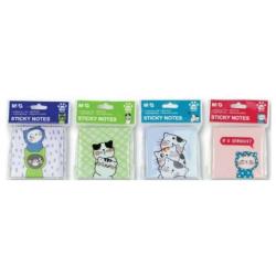 Sticky Note Cats 5.1 x 7.6 cm - Random Pick