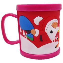 Christmas Giveaway Plastic Mug - Random Designs
