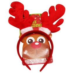 Christmas Headbands Reindeer Fur - Random Pick