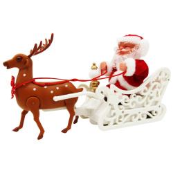 Santa Claus Carriage Deer