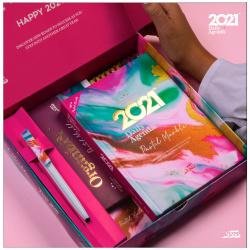 2021 Agenda Gift Box - Pastel Marble