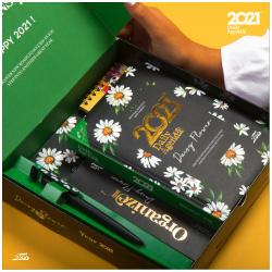 2021 Agenda Gift Box - Daisy Flower