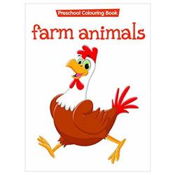 Coloring Book - Farm Animals