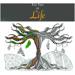 Coloring Book - The Tree of Life