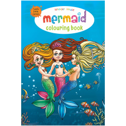 Gaint Coloring Book - Mermaid