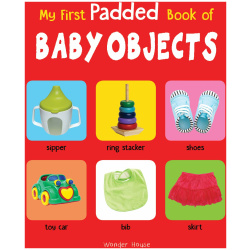 My First Padded Book - Baby Objects