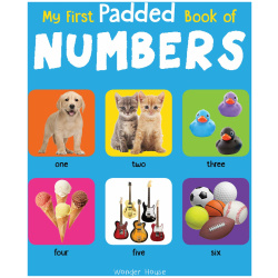 My First Padded Book - Numbers