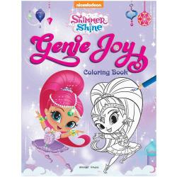 genie Joy Coloring Book - Shimmer & Shine