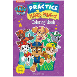 Gaint Coloring Book - Practice Makes PAWfect