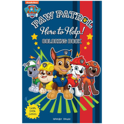 Gaint Coloring Book - Here to Help! Paw Patrol