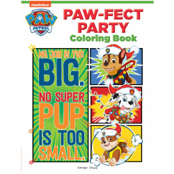 Fect Party Coloring Book - Paw Patrol