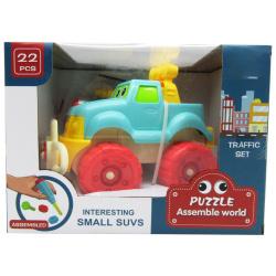 Puzzle Assemble World - Interesting Small Suvs 22 Pcs