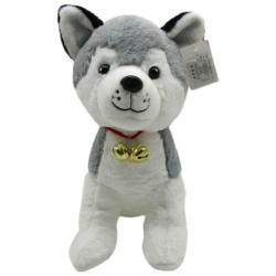 Husky Dog 30 Cm - Gray