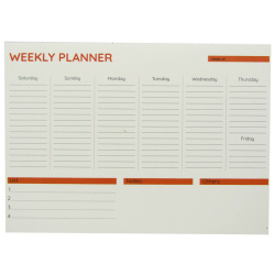 Weekly Planner A4 - Classic