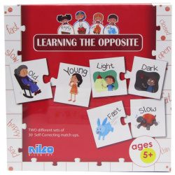 Educational Cards - Learning The Opposite - 40 Pcs
